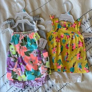 NWT Lot Of 2 Carter's Outfits